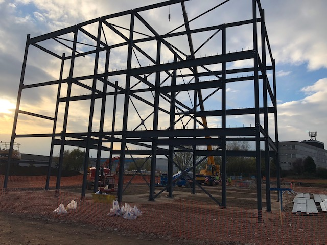 First steelwork